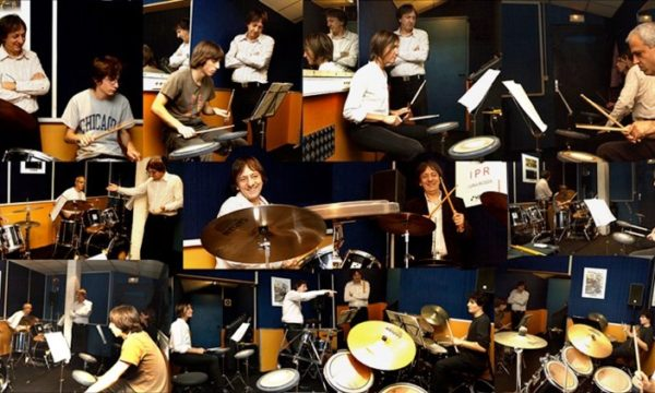 Cours de batterie - Studio Luna Rossa