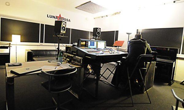 Mixage du live de Fauve - Studio Luna Rossa